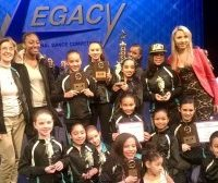 Company dancers with awards April 2016