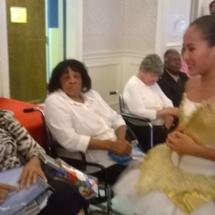 Dancers meet Residents at Bowie Nursing Home