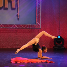 Kayla's solo contemporary dance at competition