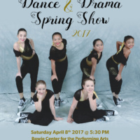 Dance and Drama Spring Show 2017 Flyer