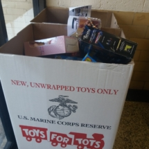 The Dance Company Volunteered for Toys for Tots