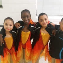 Petite Company Dancers at Showcase of Movement