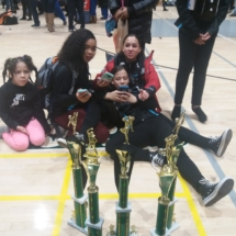 Dancers relax at MAPDA 2018 competition
