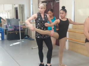 Summer Camp Ballet lesson