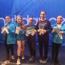 junior dance team wins