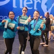 trio wins dance award